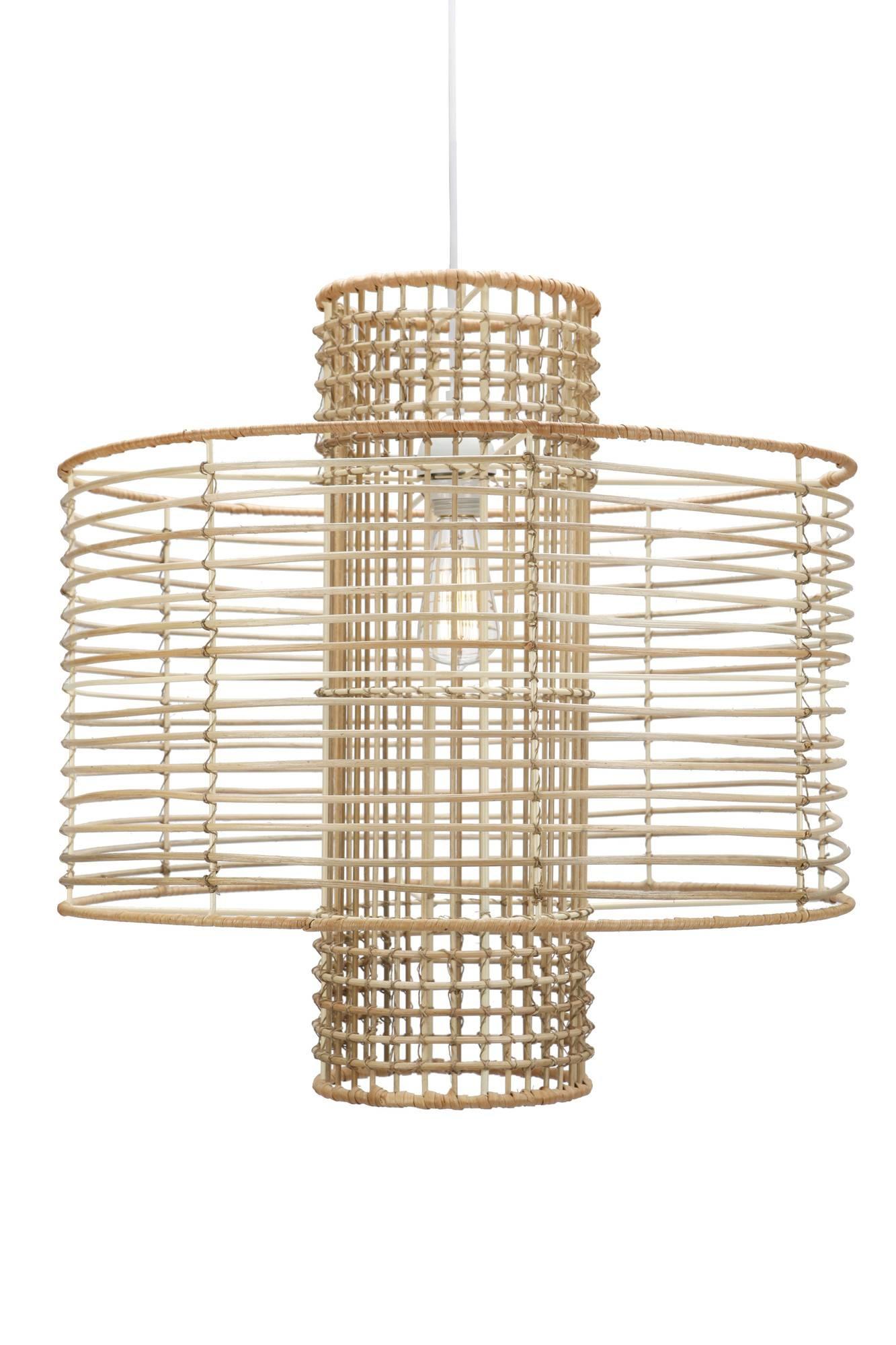 Anthropologie Deco Rattan Pendant Lamp   Decor Look Alikes for Rattan Pendant Lighting (Image 2 of 15)