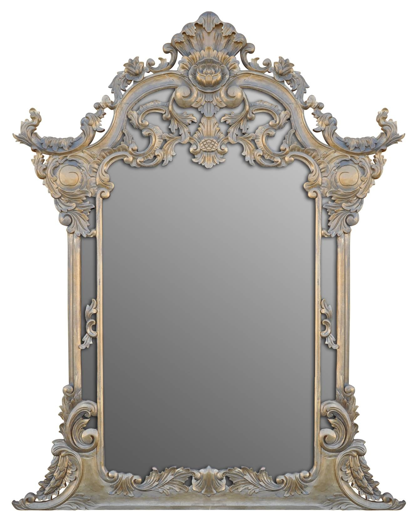 Antique-Frame-Mirror-3 within Antique Victorian Mirrors (Image 8 of 15)