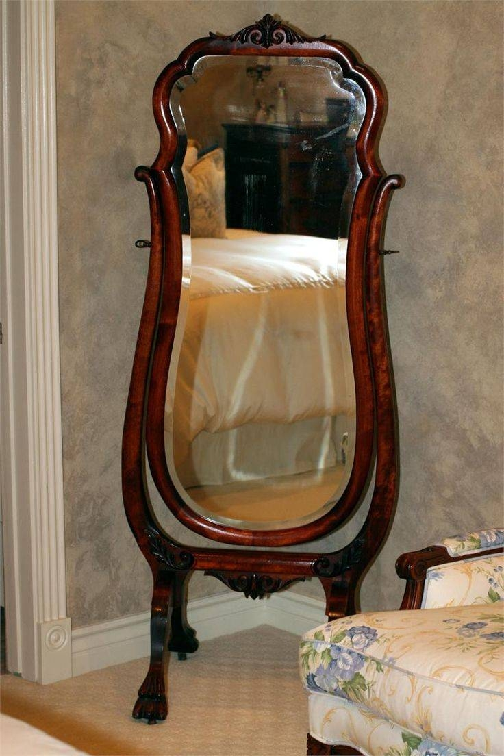 Antique Mahogany Full Length Cheval Mirror | Vintage? Classic In Full Length Antique Mirrors (View 6 of 15)