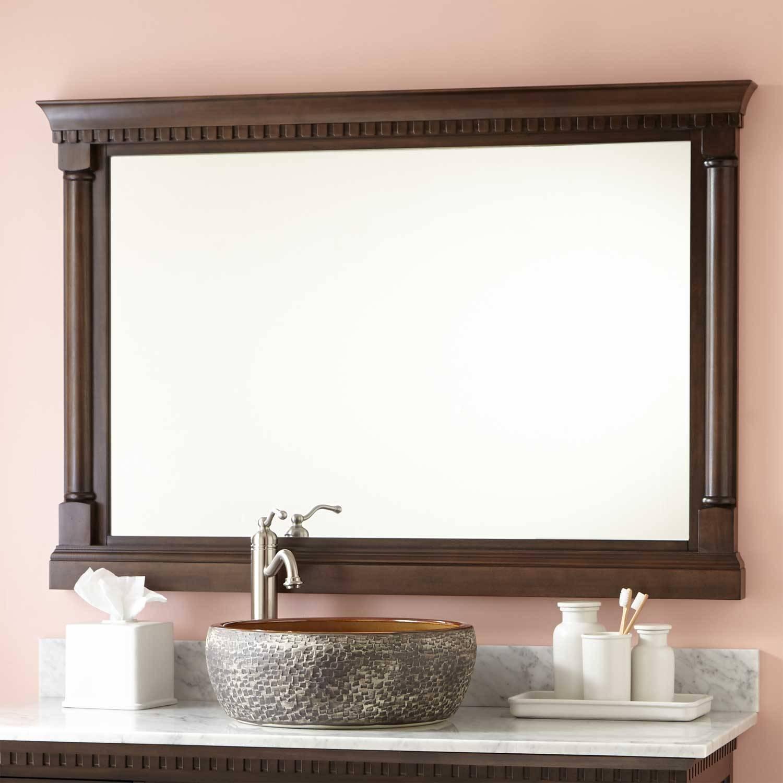 Antique Mirror | Signature Hardware for Antique Mirrors for Bathrooms (Image 3 of 15)