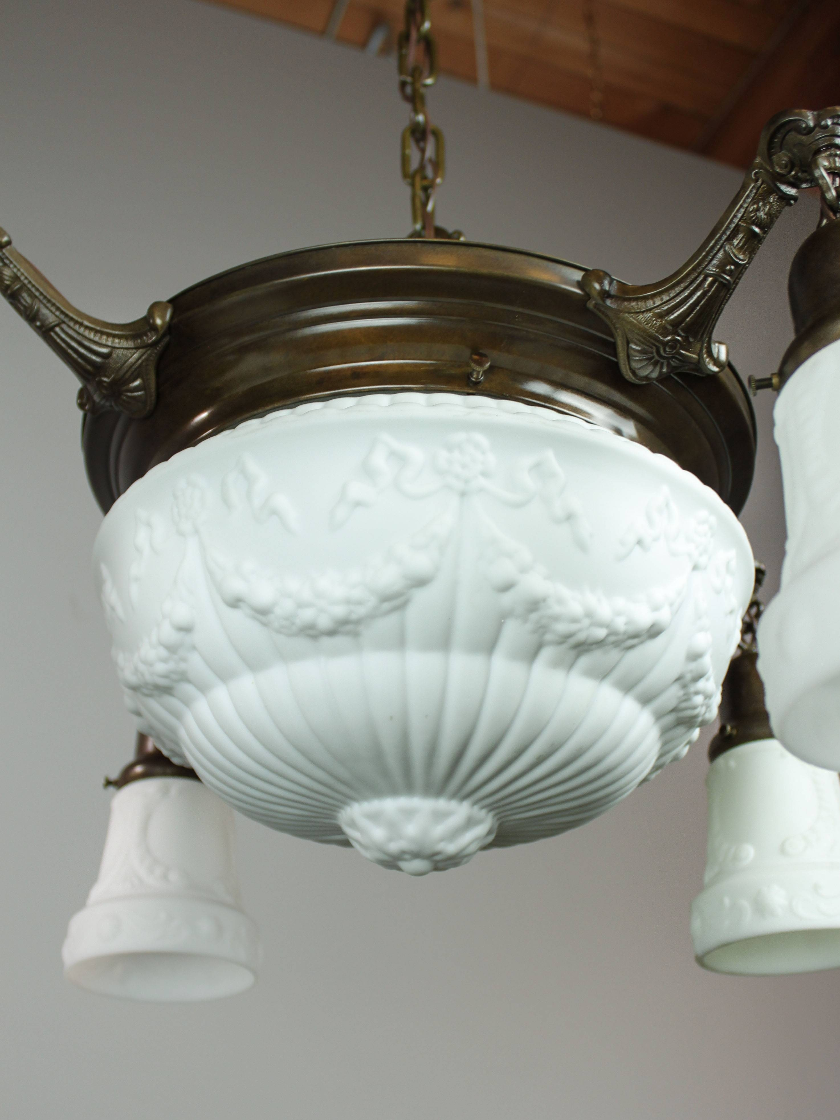 Featured Photo of Milk Glass Lights Fixtures
