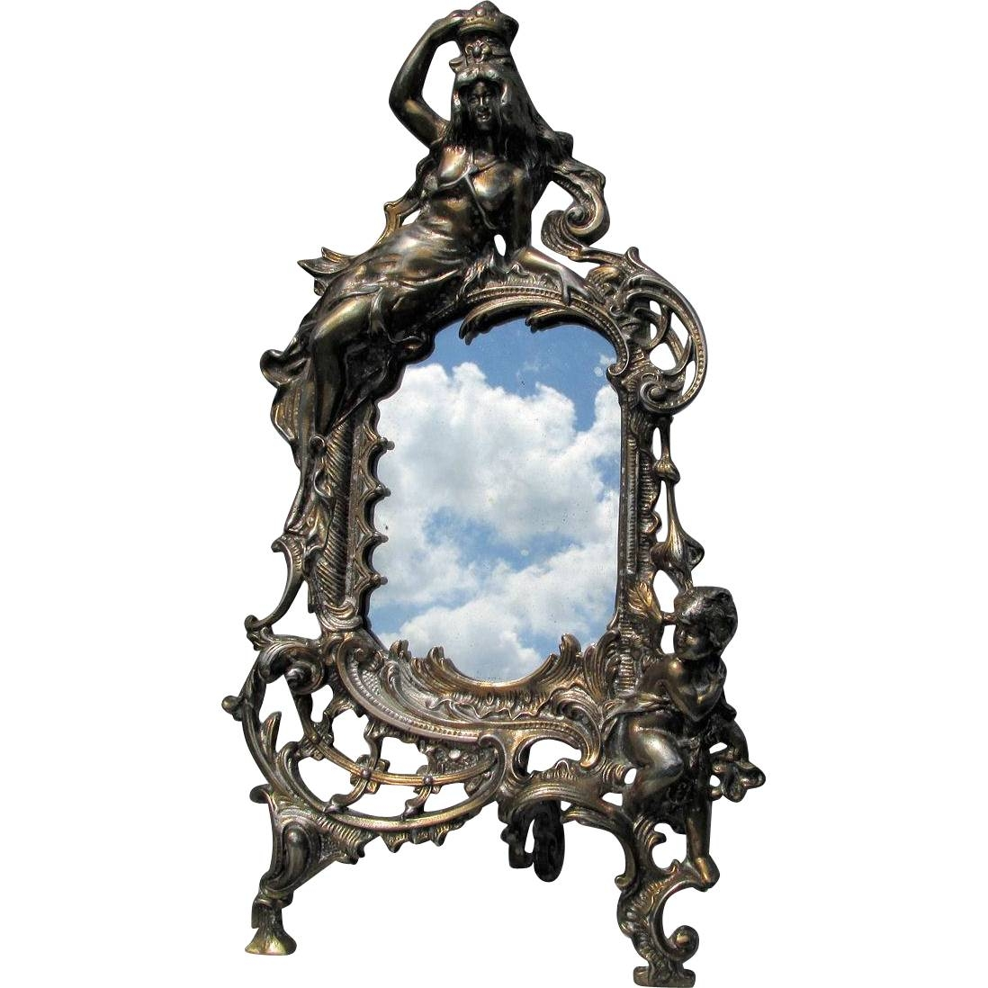 Featured Photo of Antique Victorian Mirrors
