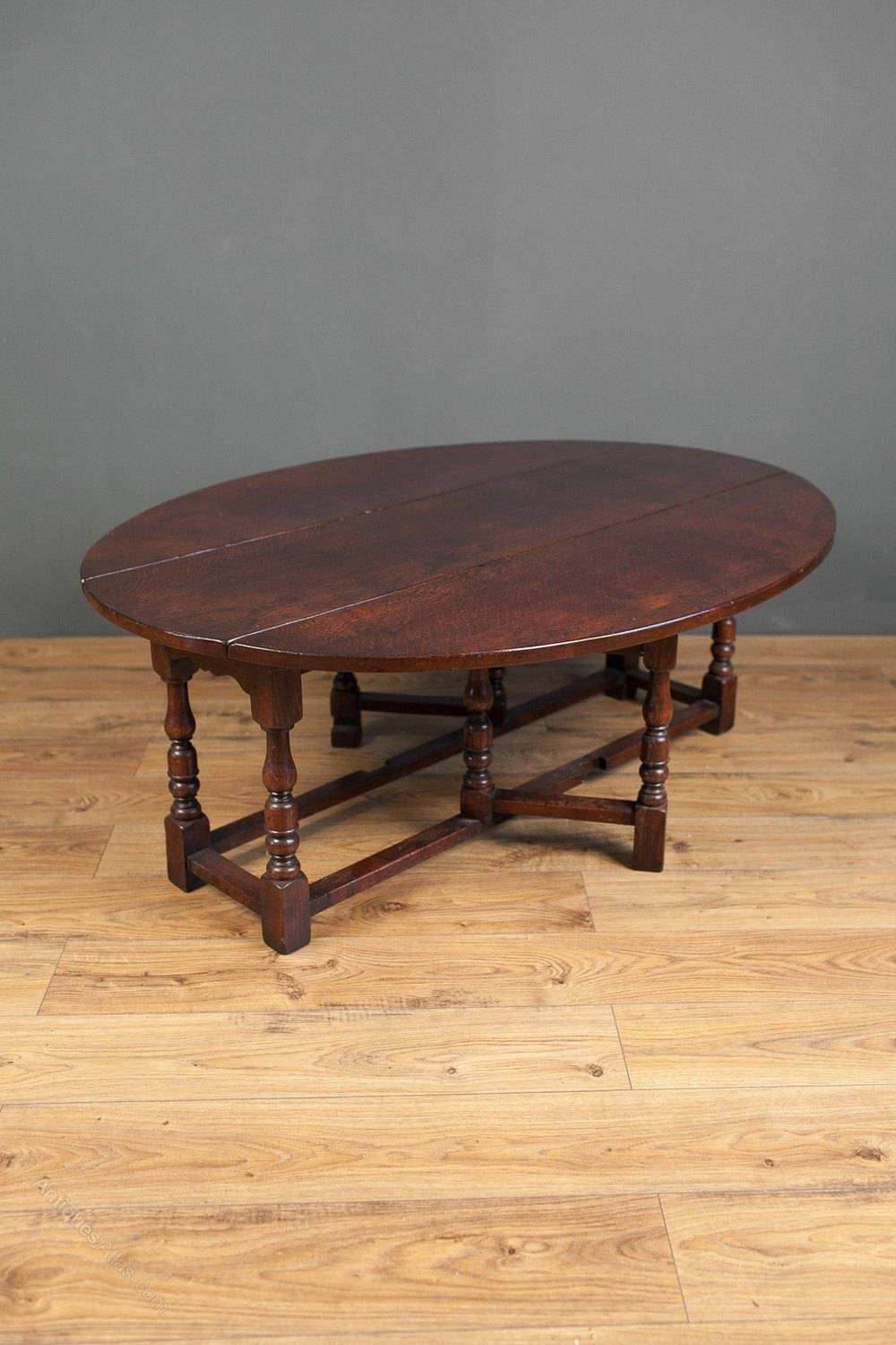 Antiques Atlas – Jacobean Revival Oak Gateleg Coffee Table With Jacobean Coffee Tables (Image 5 of 15)