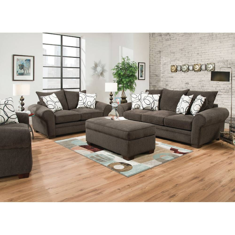 Apollo Living Room - Sofa & Loveseat (548) : Furniture in Living Room Sofa and Chair Sets (Image 1 of 15)