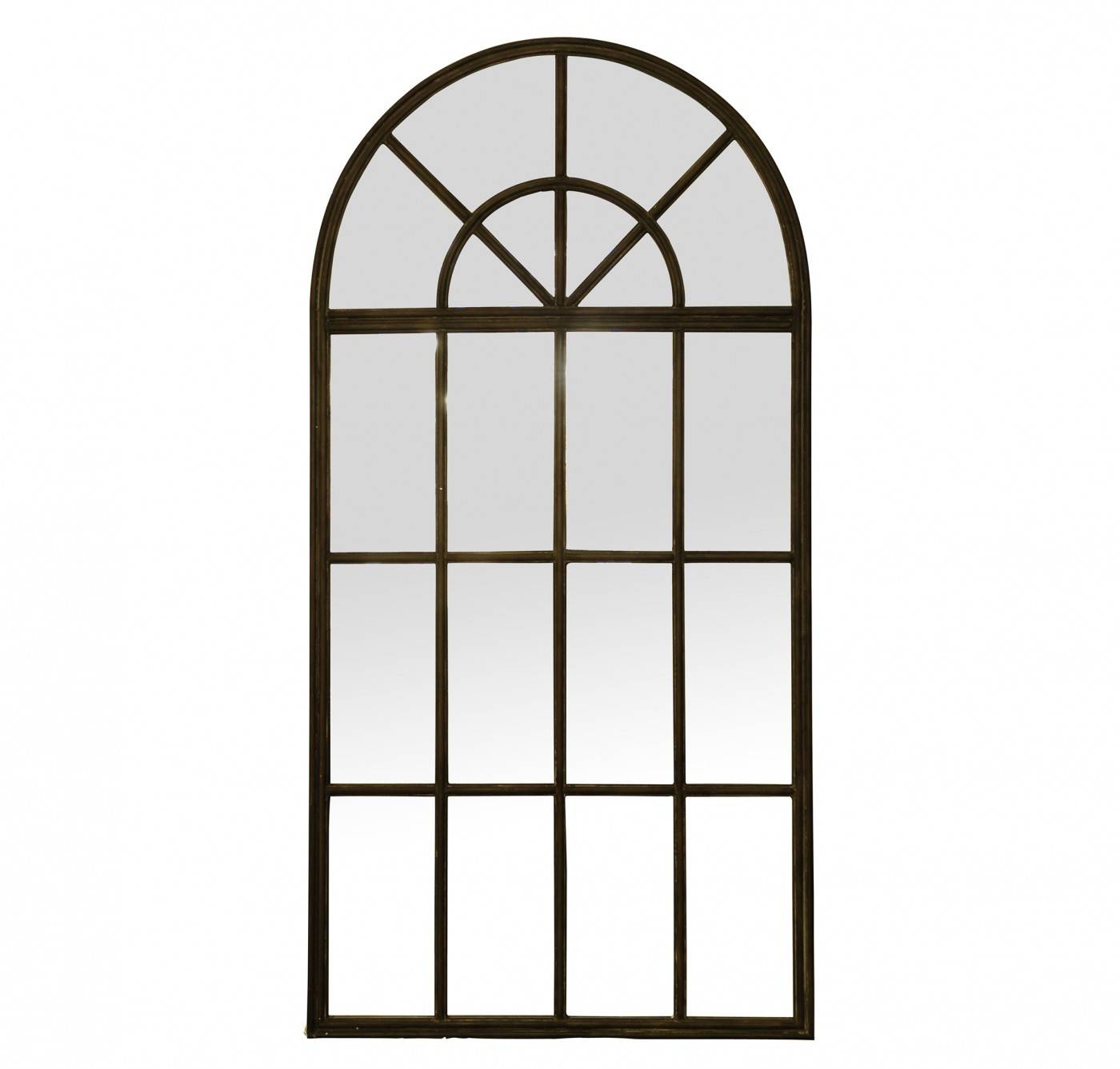 Arched Mirrors That Look Like Windows | Vanity Decoration throughout Large Arched Window Mirrors (Image 2 of 15)
