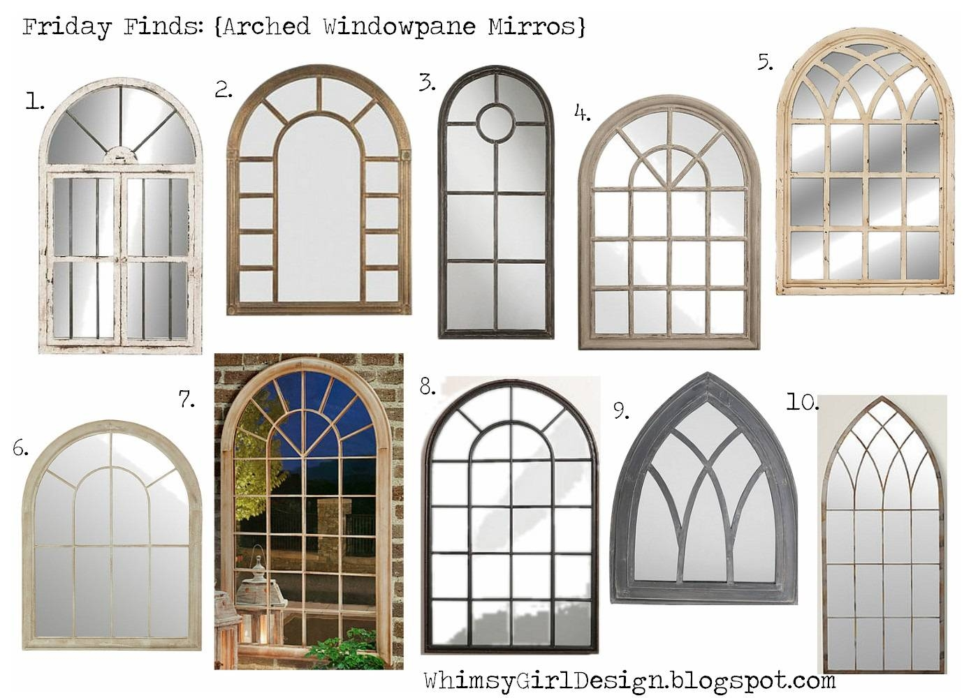 Arched Window Pane Mirror 132 Beautiful Decoration Also Distressed Intended For White Arch Mirrors (View 13 of 15)
