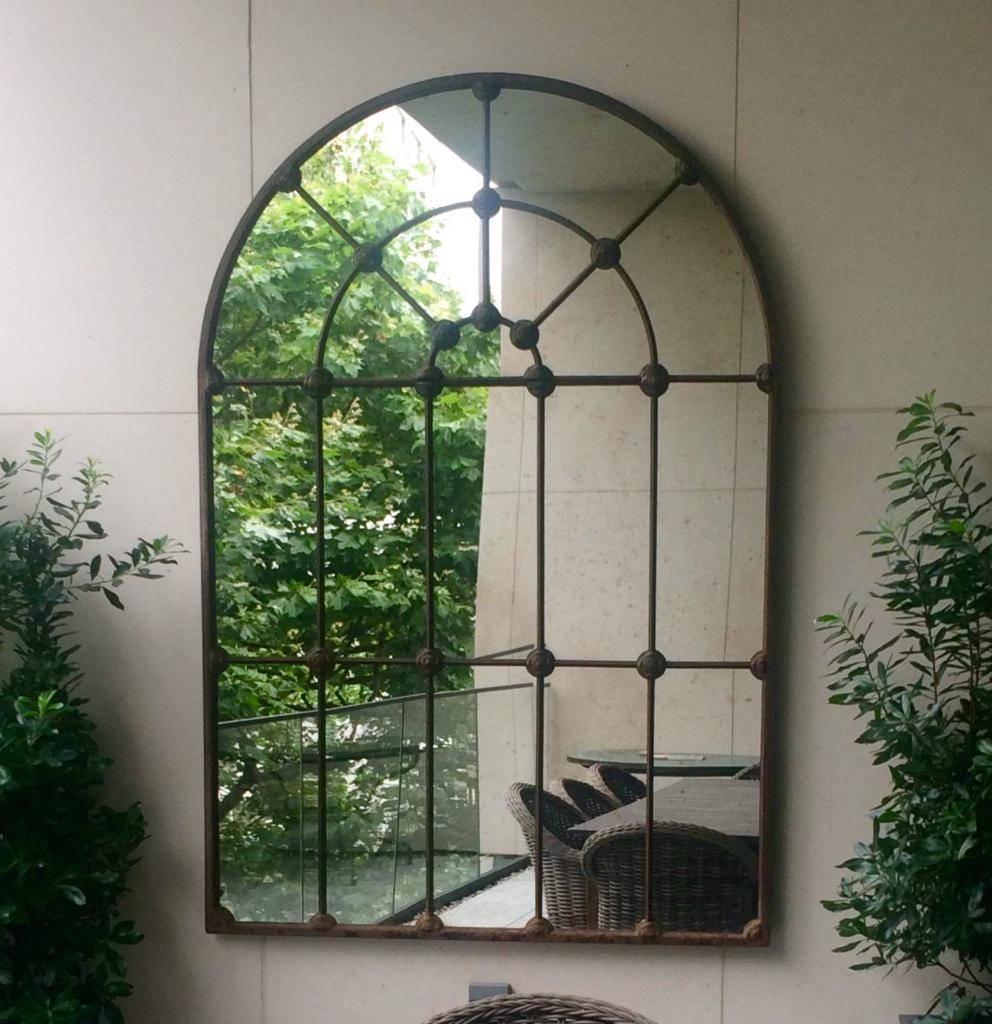 Architectural Garden Mirrors Inside Large Garden Mirrors (View 3 of 15)