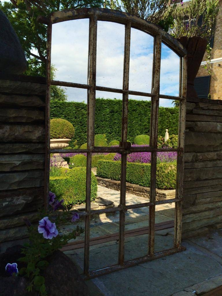 Architectural Window Mirrors With Regard To Large Garden Mirrors (View 5 of 15)