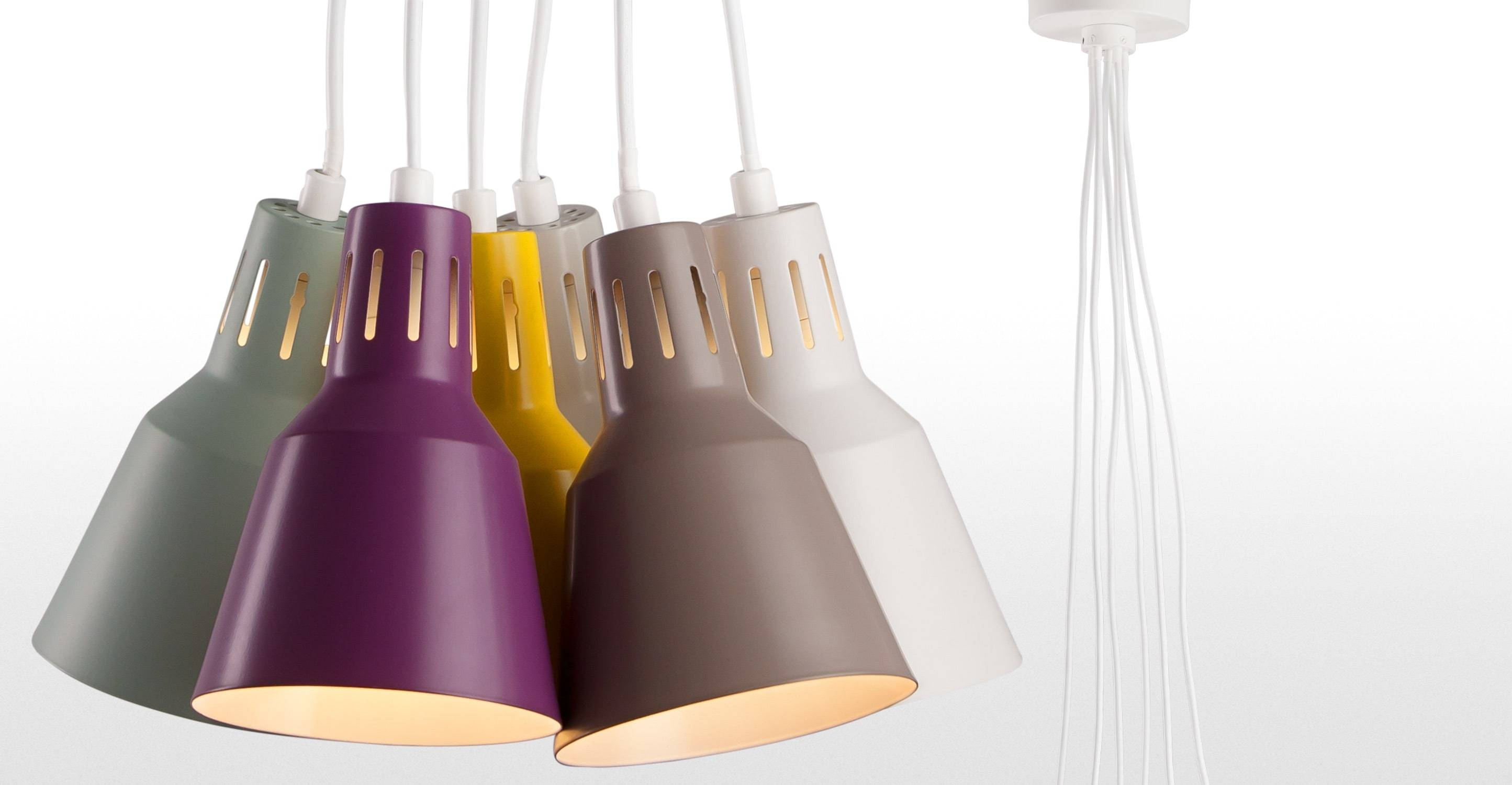 Arnold Pendant Light In Multicolour | Made with regard to Multi Coloured Pendant Lights (Image 3 of 15)