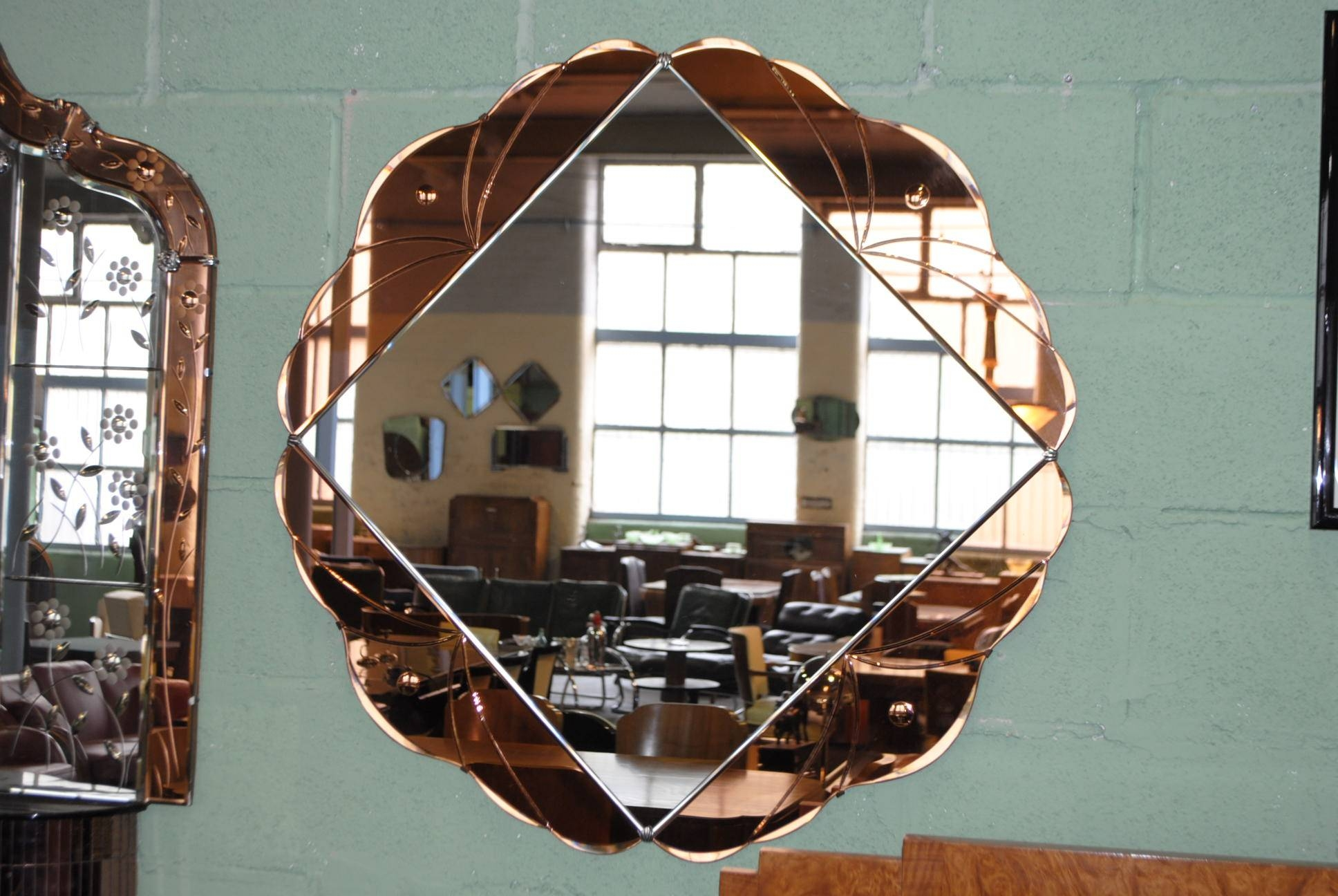 Art Deco Mirror || Cloud 9, Art Deco Furniture Sales in Art Deco Large Mirrors (Image 6 of 15)