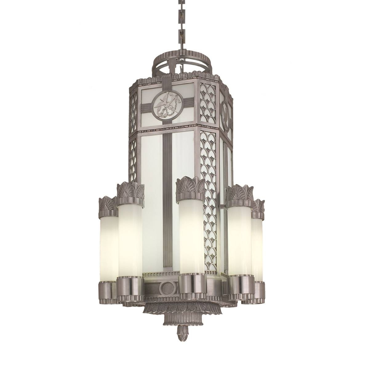 Art Deco Pendant (Replica) | Crenshaw Lighting for Art Nouveau Pendant Lights (Image 8 of 15)