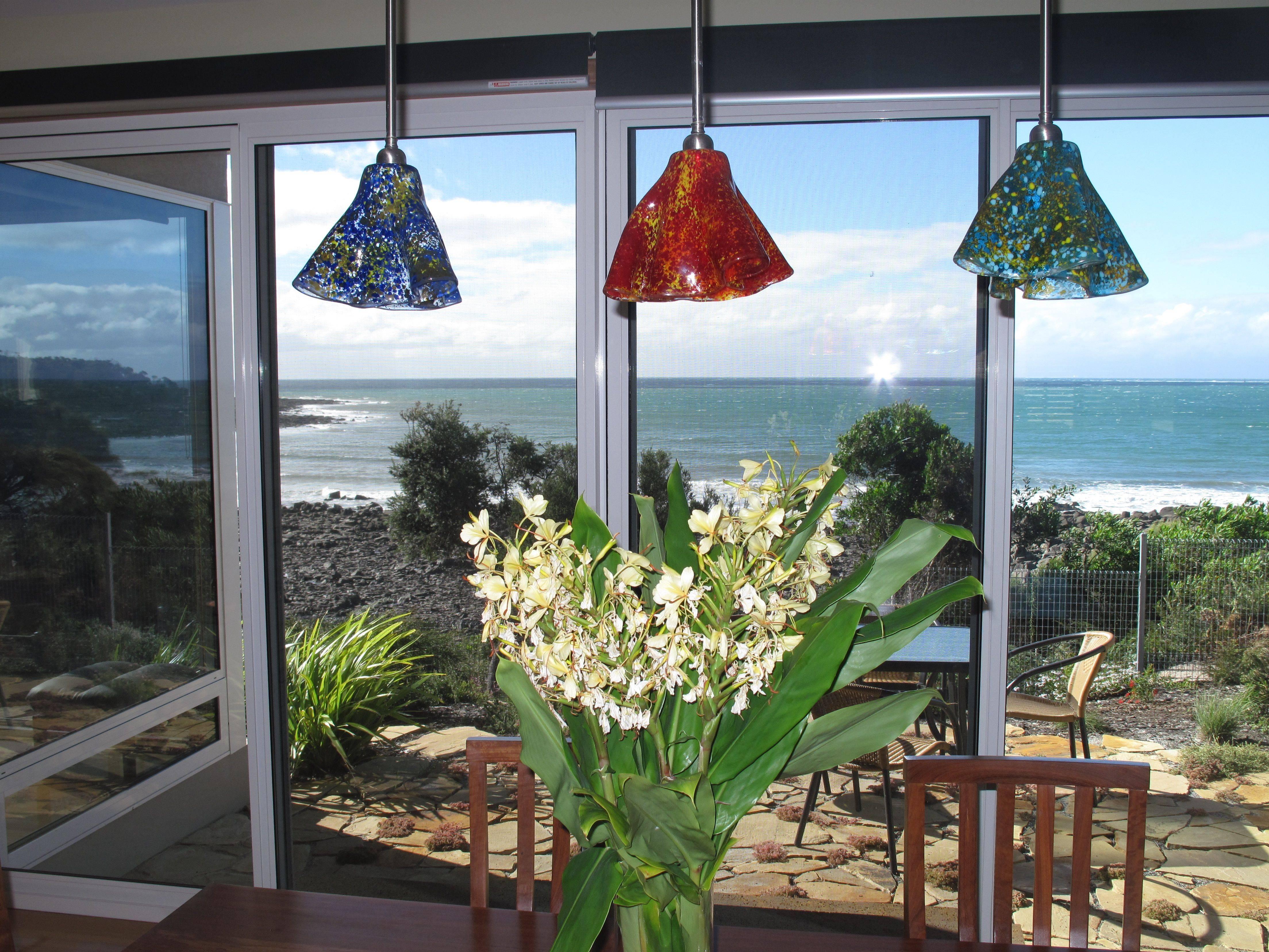 Art Glass Pendant Lights - Helen Rudy Glass regarding Art Glass Pendant Lights Shades (Image 3 of 15)