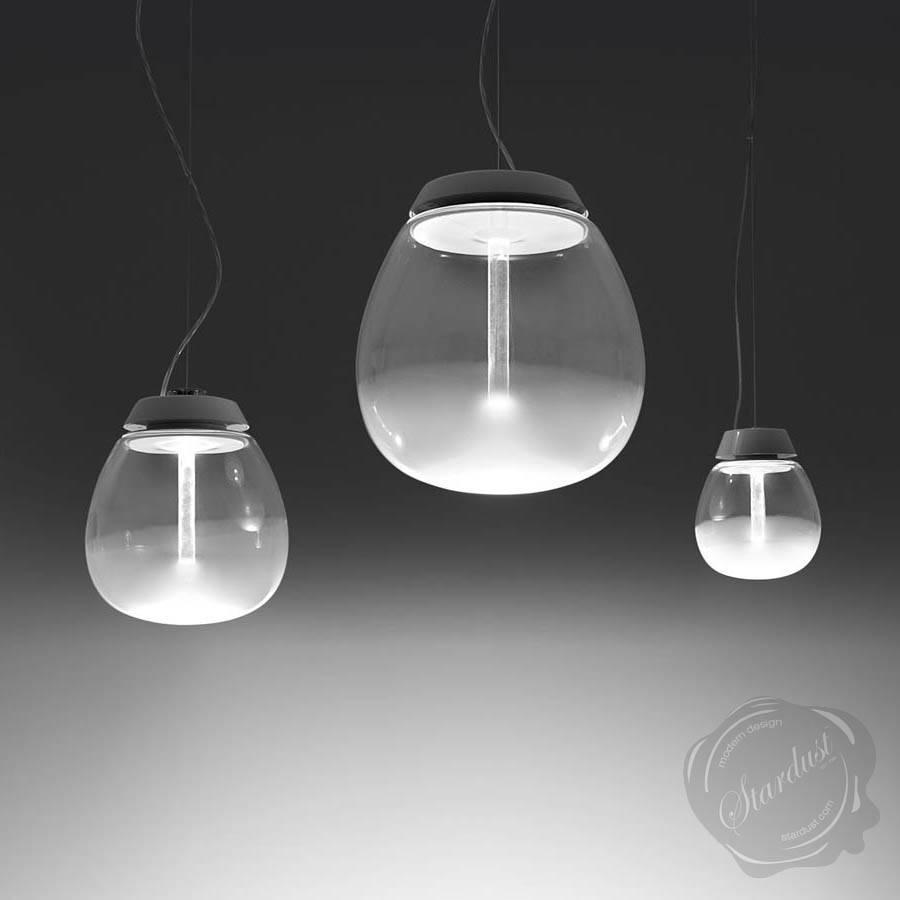 Artemide Empatia Suspension Murano Glass Pendant Light | Stardust regarding Murano Pendant Lights (Image 1 of 15)