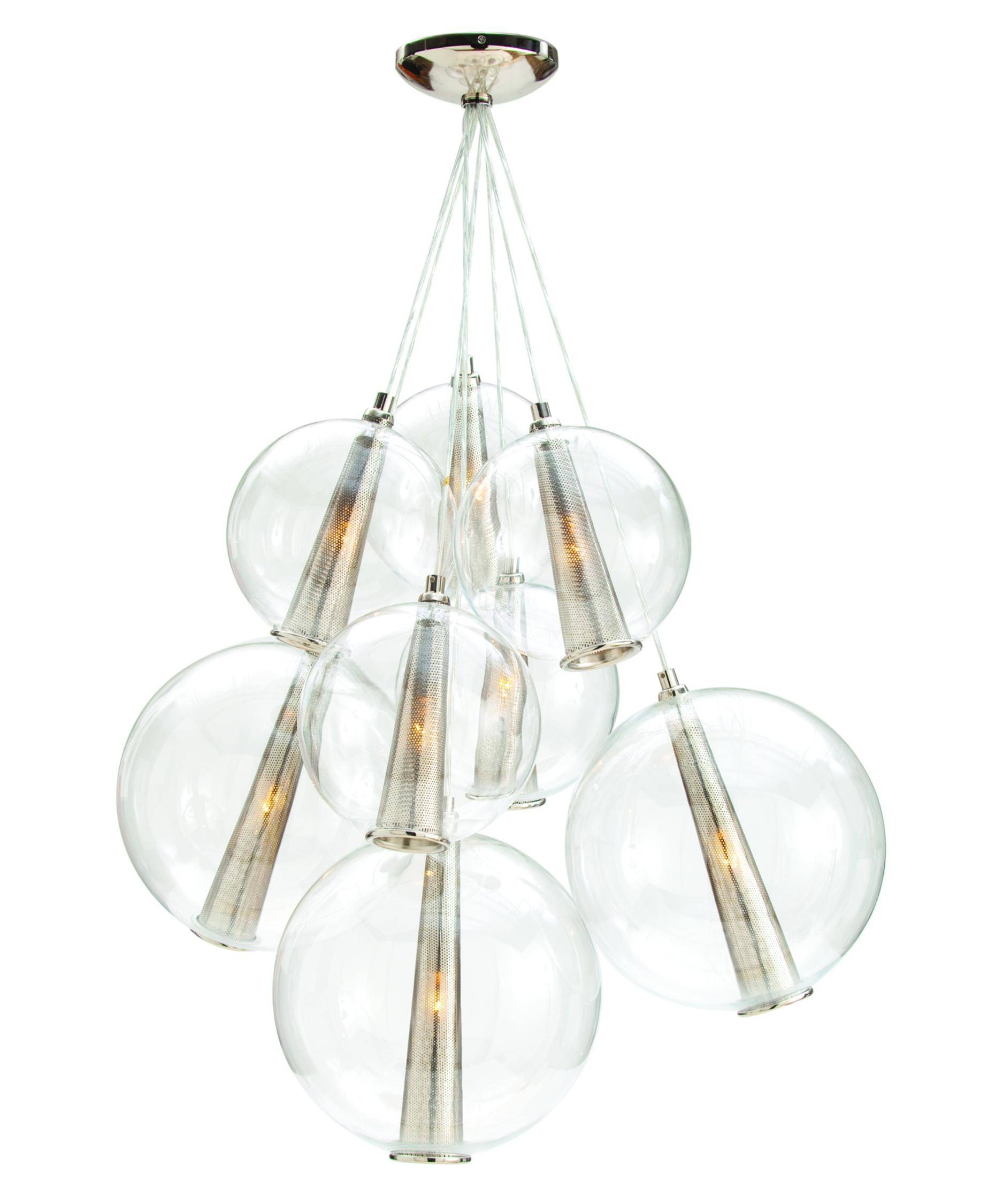 Arteriors Home Dk89900 Caviar 29 Inch Wide 1 Light Multi Pendant throughout Caviar Pendant Lights (Image 5 of 15)
