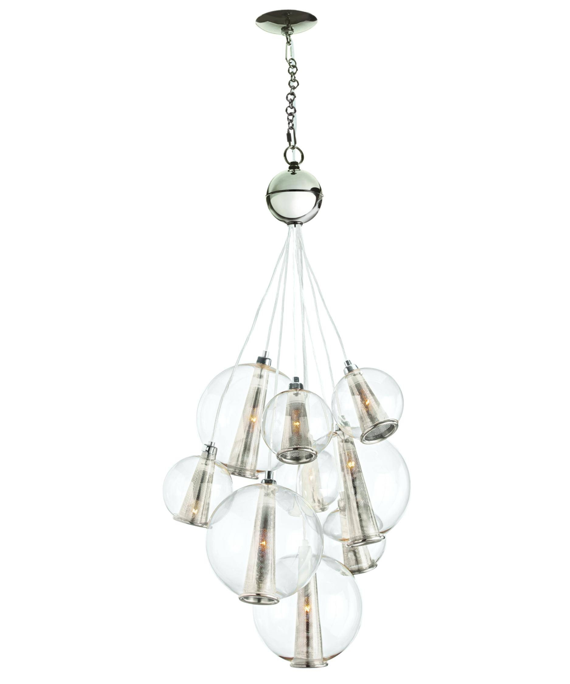 Arteriors Home Dk89907 Caviar 21 Inch Wide 1 Light Multi Pendant inside Caviar Pendant Lights (Image 6 of 15)