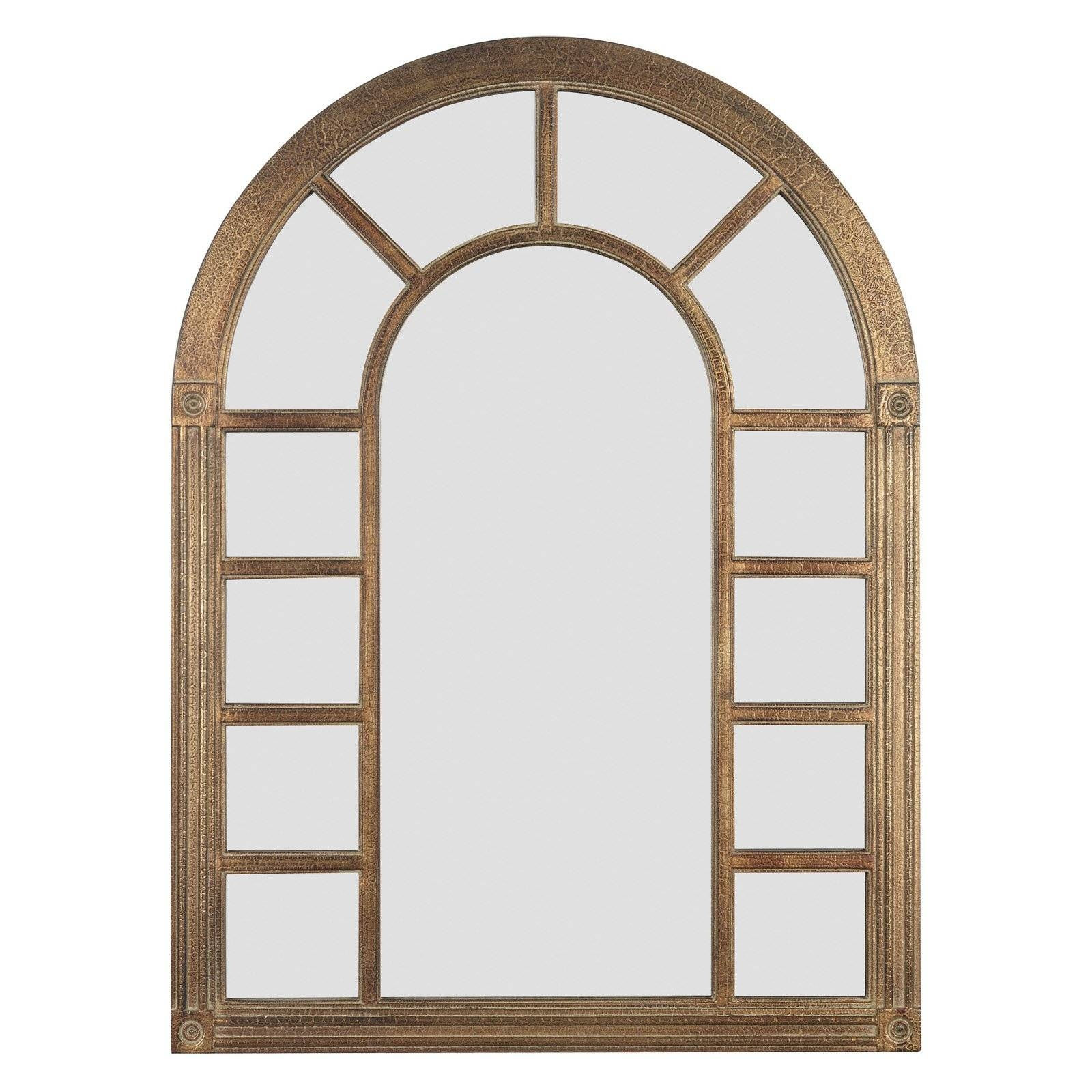 Aspire Home Accents Arched Window Wall Mirror – 25W X 42H In Throughout Arched Wall Mirrors (View 14 of 15)