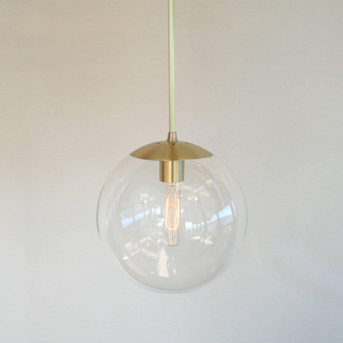 Astonishing Globe Light Pendant 62 With Additional Glass Orb with Glass Orb Pendant Lights (Image 4 of 15)