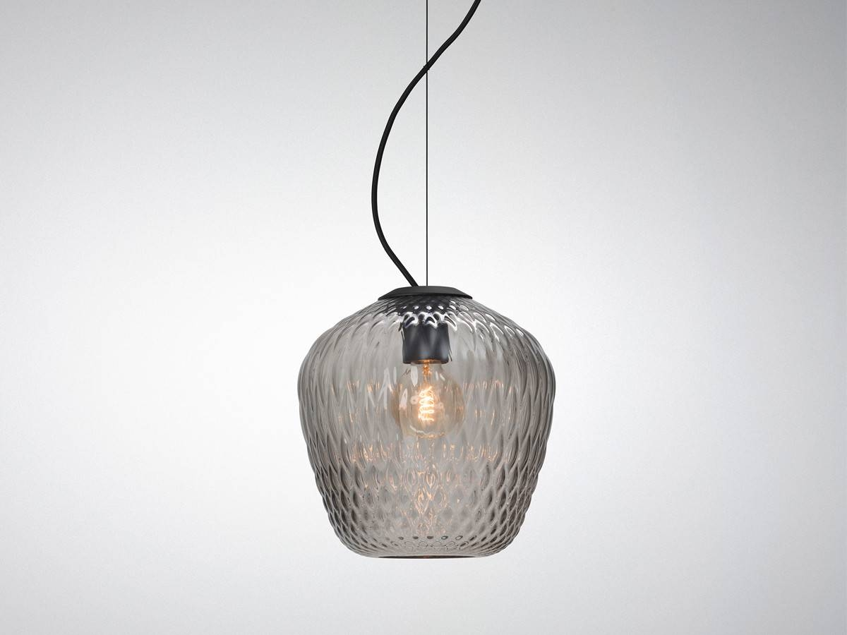 Awesome Blown Glass Pendant Lighting With House Design Ideas Root with Artisan Glass Pendant Lights (Image 6 of 23)