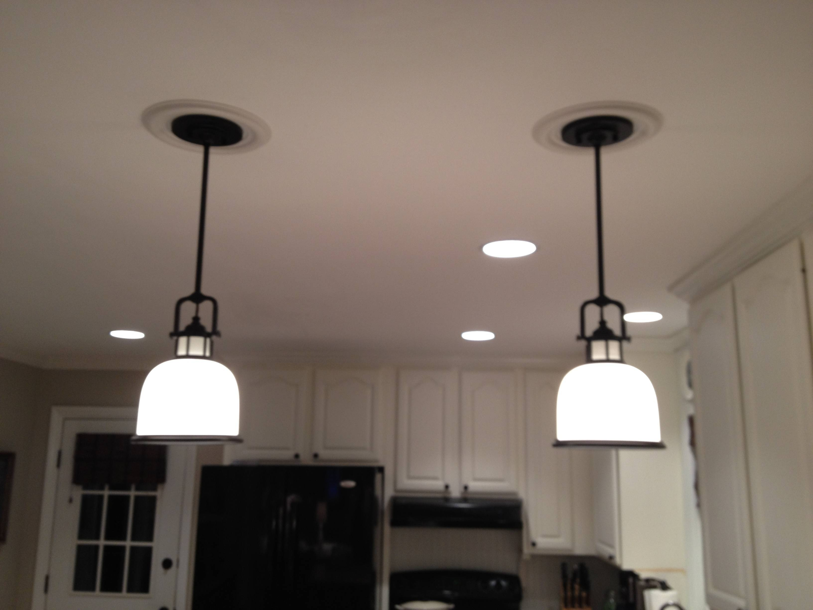 Awesome Recessed Lighting To Pendant 71 In Pendant Light Cage With in Recessed Lights to Pendant Lights (Image 1 of 15)