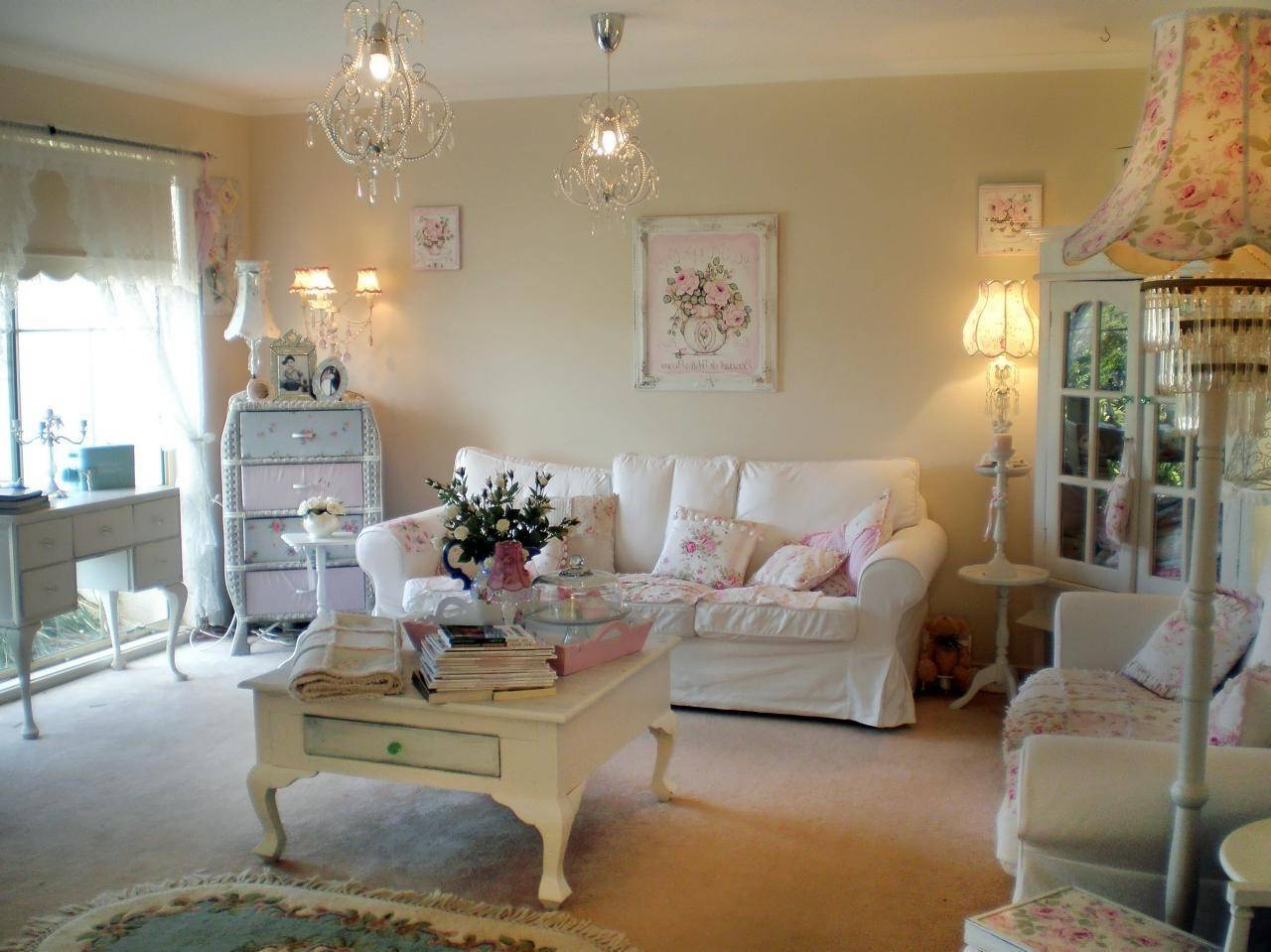 Awesome Shabby Chic Sectional Sofa Ideas Design Living Room In Shabby Chic  Sectional Sofas Couches (