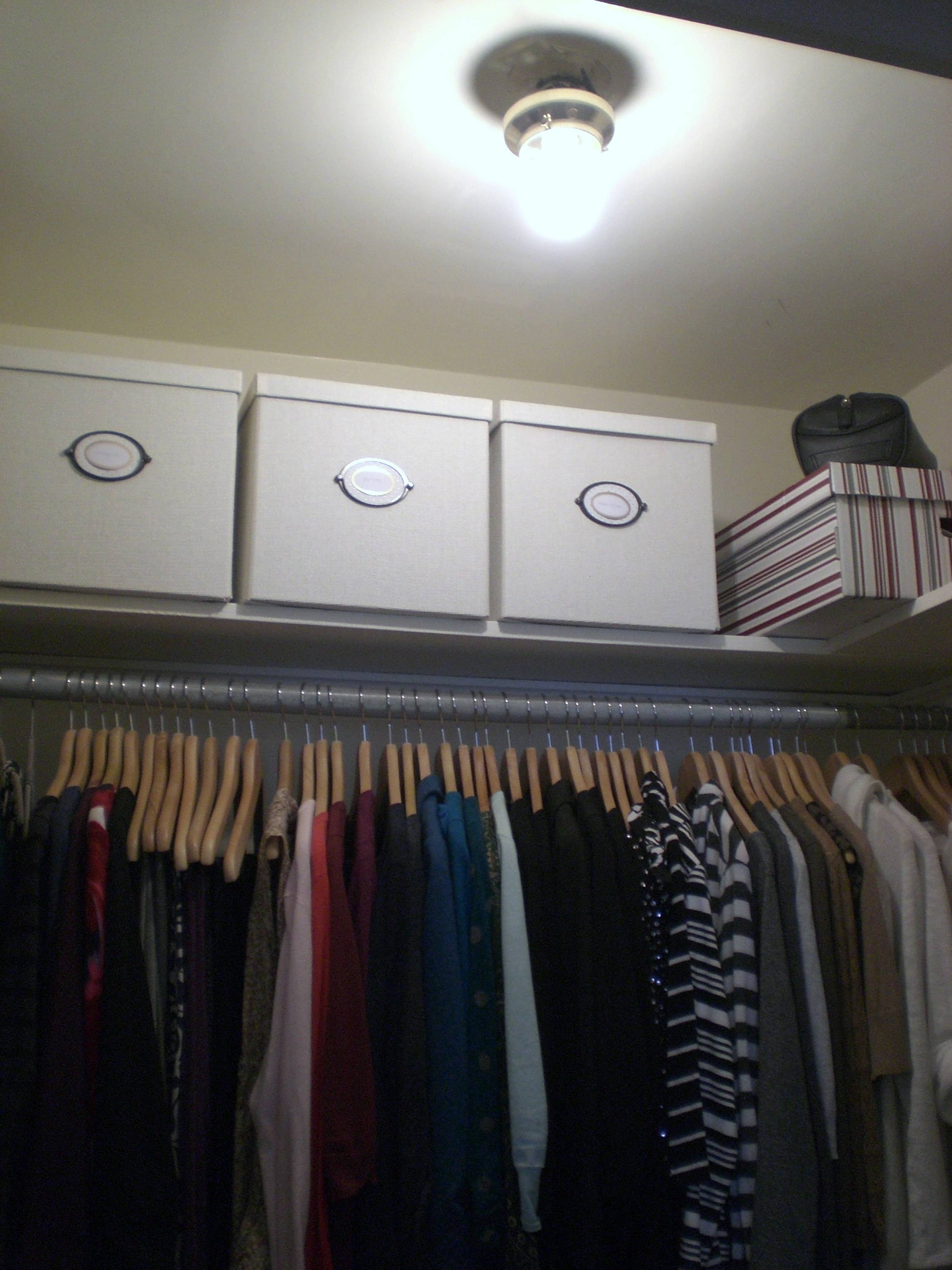 Bare Bulb To Classy Closet | pertaining to Bare Bulb Fixtures (Image 5 of 15)