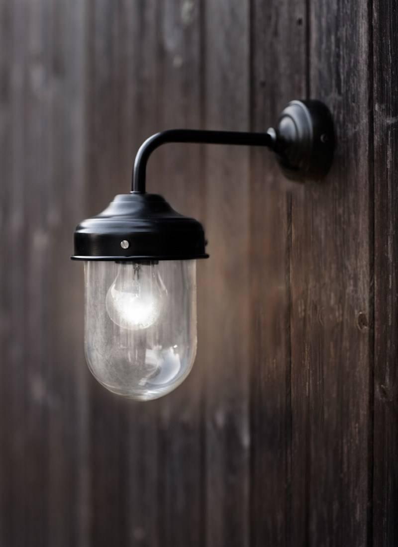 Barn Light In Black - Steel | Garden Trading intended for Barn Lights Uk (Image 4 of 15)