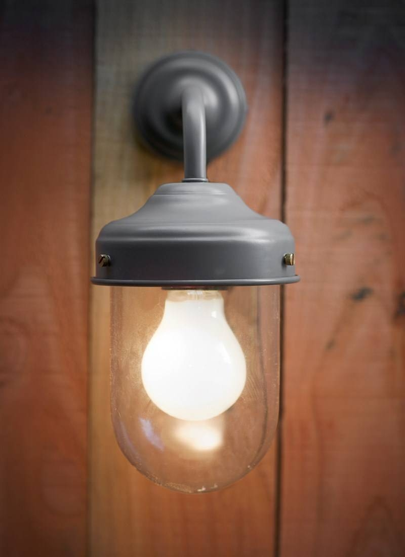 Barn Light In Charcoal - Steel | Garden Trading in Barn Lights Uk (Image 5 of 15)