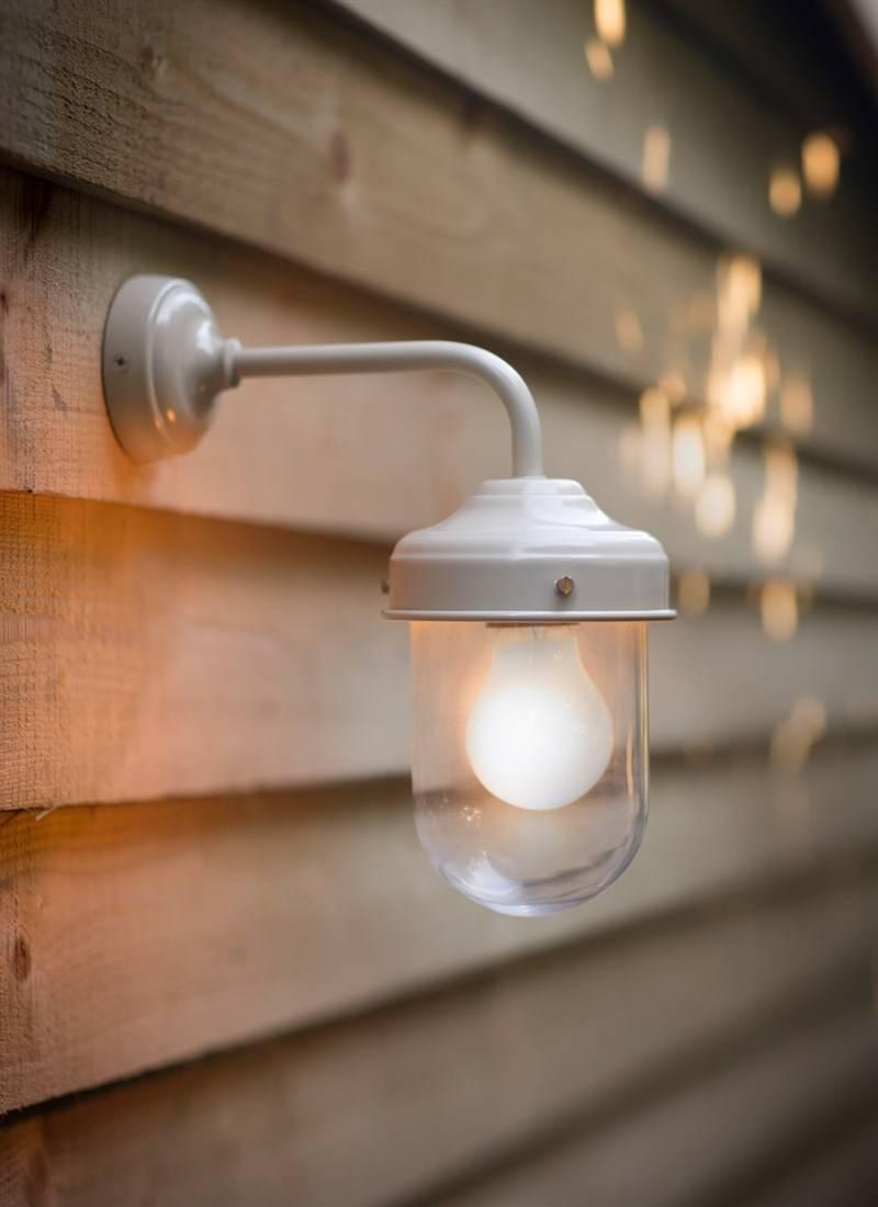 Barn Light In Clay - Steel | Garden Trading in Barn Lights Uk (Image 6 of 15)