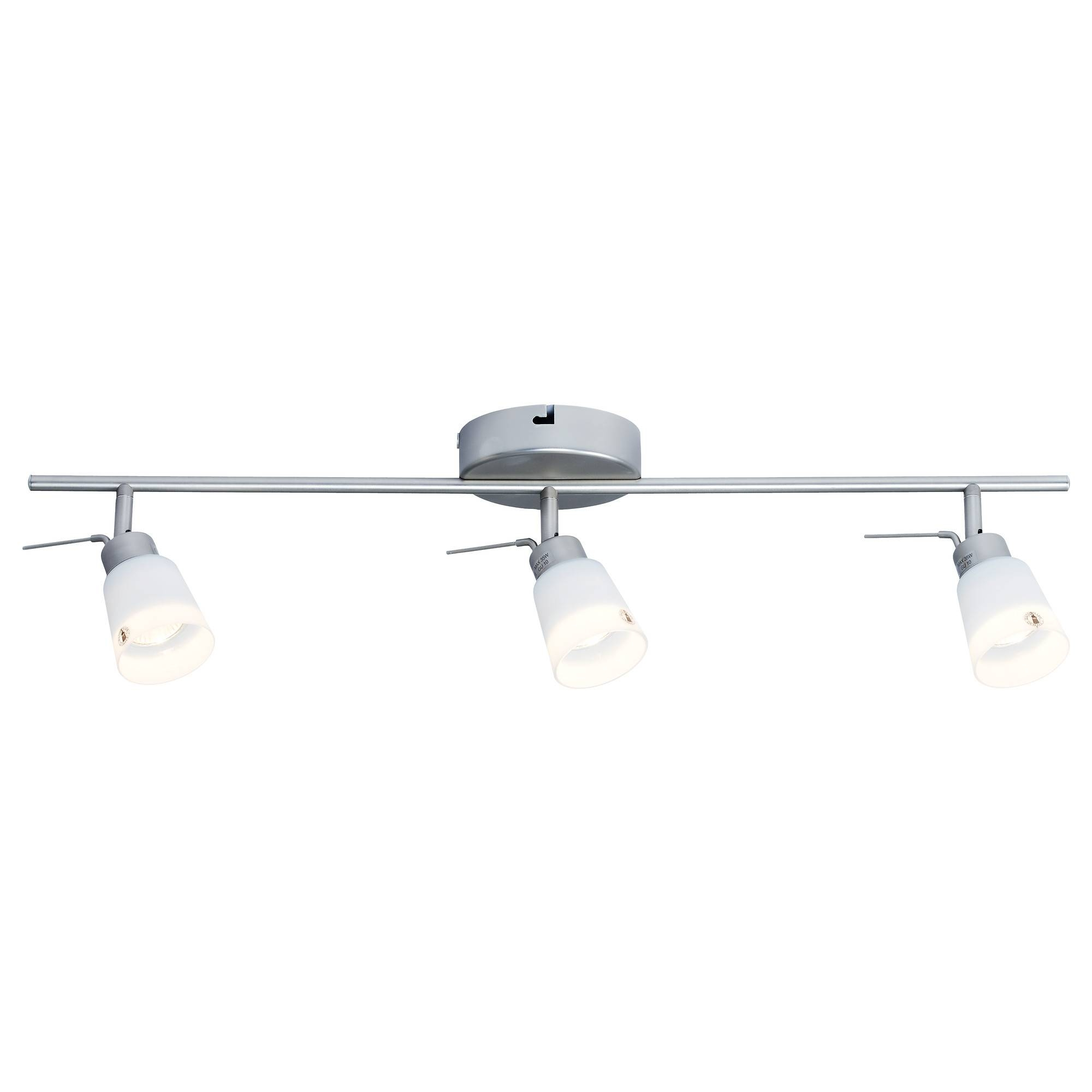 Basisk Ceiling Track, 3 Spotlights - Ikea with Ikea Ceiling Lights Fittings (Image 2 of 15)