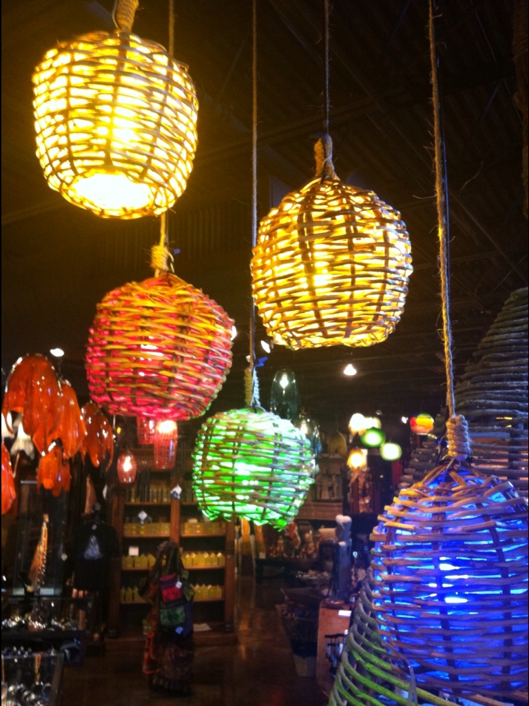 Basket Lights As Decorative Lanterns - No Mas! Productions in Mexican Lights Fixtures (Image 3 of 15)