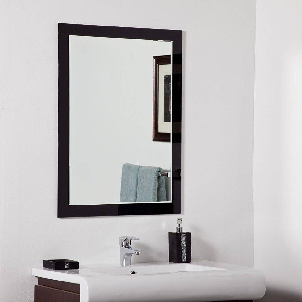 Bathroom Cabinets : Bathroom Makeup Mirror Modern Bathroom Mirrors inside Large Contemporary Mirrors (Image 2 of 15)