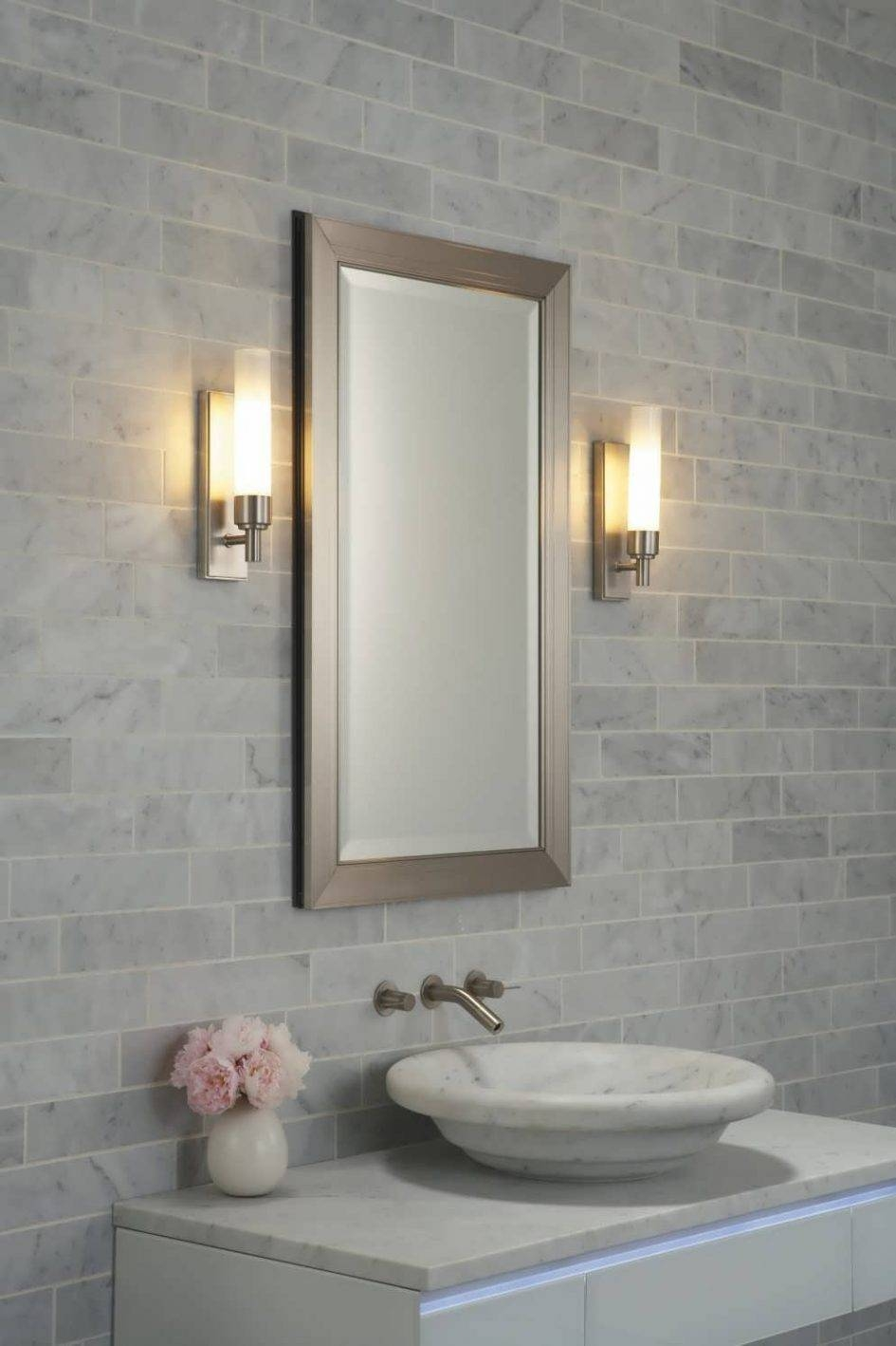 Bathroom Cabinets : Bevelled Edge Mirror Floor Mirror Cheap Wall For Large Bevelled Edge Mirrors (View 1 of 15)