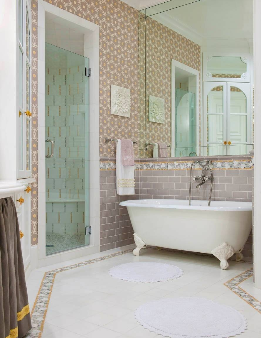 Bathroom Cabinets : Decorative Bathroom Mirrors Stick On Frames within Bronze Mosaic Mirrors (Image 3 of 15)
