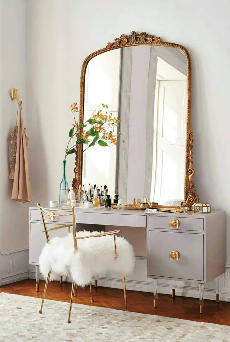 Bathroom Cabinets : French Floor Mirror Old Antique Mirrors Rococo Regarding Antique Mirrors For Bathrooms (View 14 of 15)