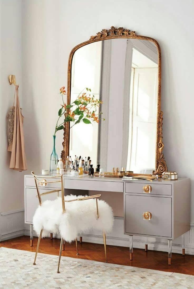 Bathroom Cabinets French Floor Mirror Old Antique Mirrors Rococo Regarding For Bathrooms