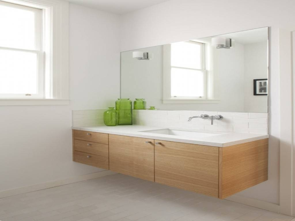 Bathroom Cabinets : Large Frameless Mirrors For Frameless Bathroom With Regard To Large Frameless Bathroom Mirrors (View 2 of 15)