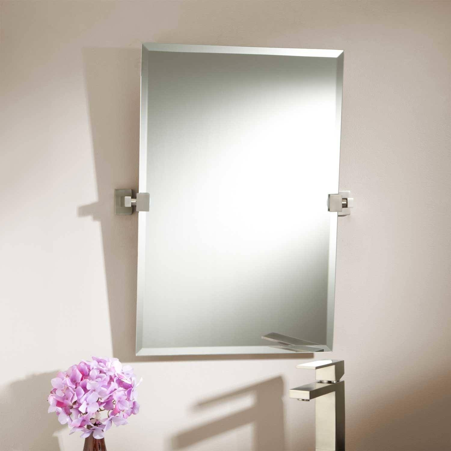Bathroom Cabinets : Unframed Mirrors Black Wall Mirror Large intended for Unframed Wall Mirrors (Image 2 of 15)