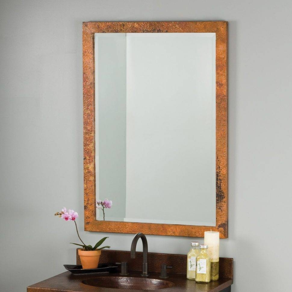 Bathroom Cabinets : Vintage Style Bathroom Mirror Old Fashioned Throughout Cheap Vintage Style Mirrors (View 4 of 15)