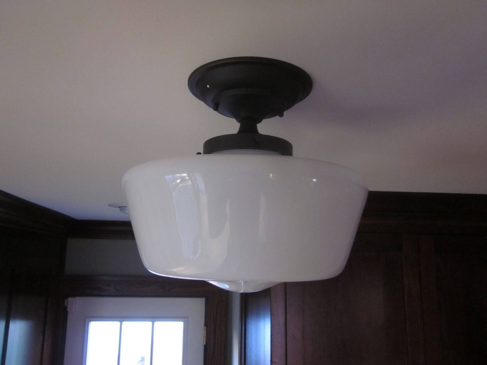 Bathroom Light : Awesome Schoolhouse Light Fixtures For Bathroom throughout Schoolhouse Pendant Lights Canada (Image 1 of 15)