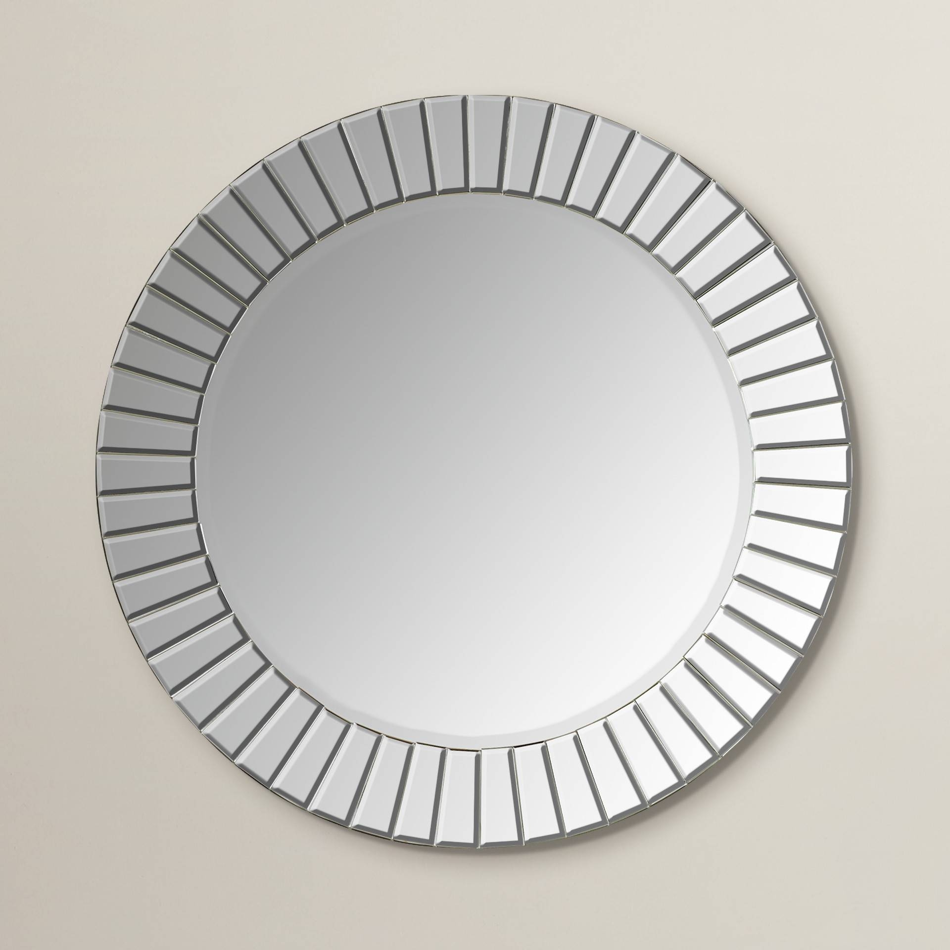 Bathroom: Light Up Your Home With Frameless Beveled Mirror with Frameless Wall Mirrors (Image 2 of 15)
