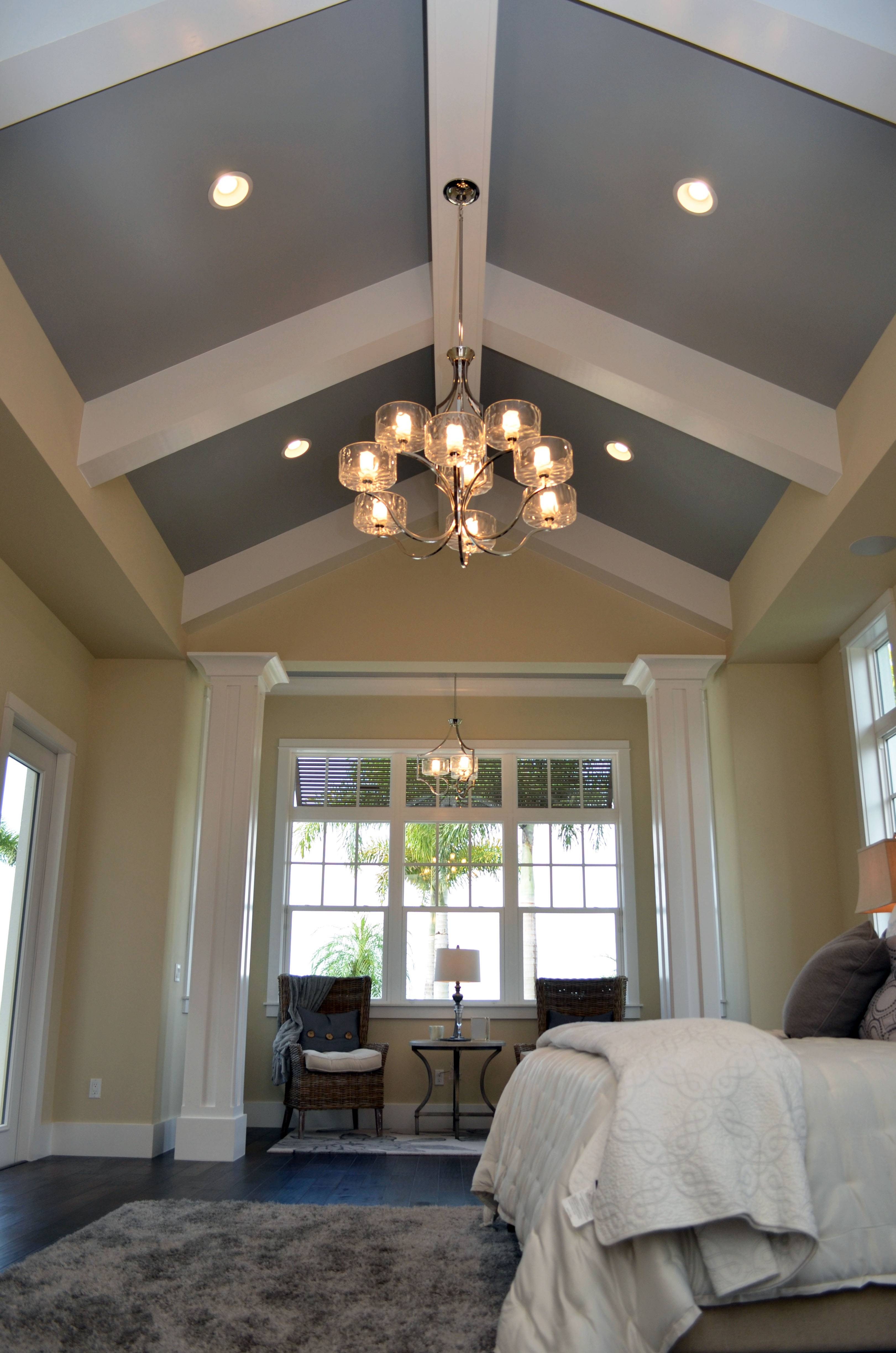 Bathroom Lighting Ideas On Sloped Ceiling – Interiordesignew Throughout Sloped Ceiling Pendant Lights (View 3 of 15)