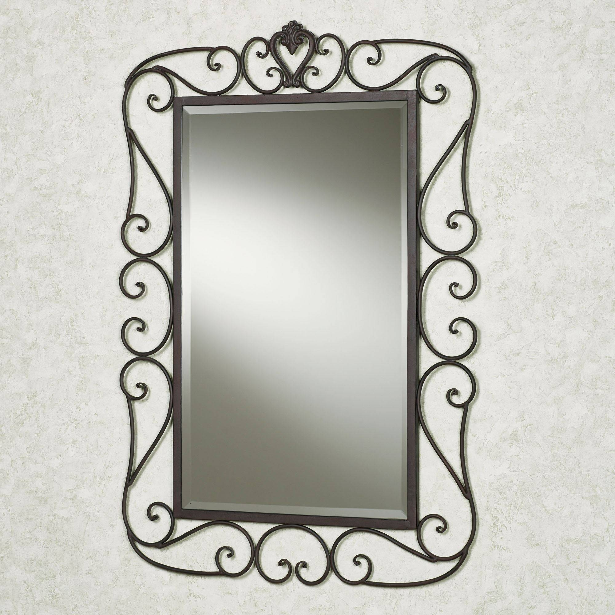 Featured Photo of Wrought Iron Bathroom Mirrors