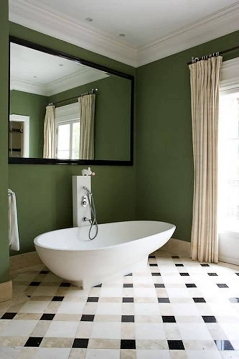 Bathroom : White Oval Bathroom Mirrors Antique White Bathroom in Antique White Oval Mirrors (Image 4 of 15)