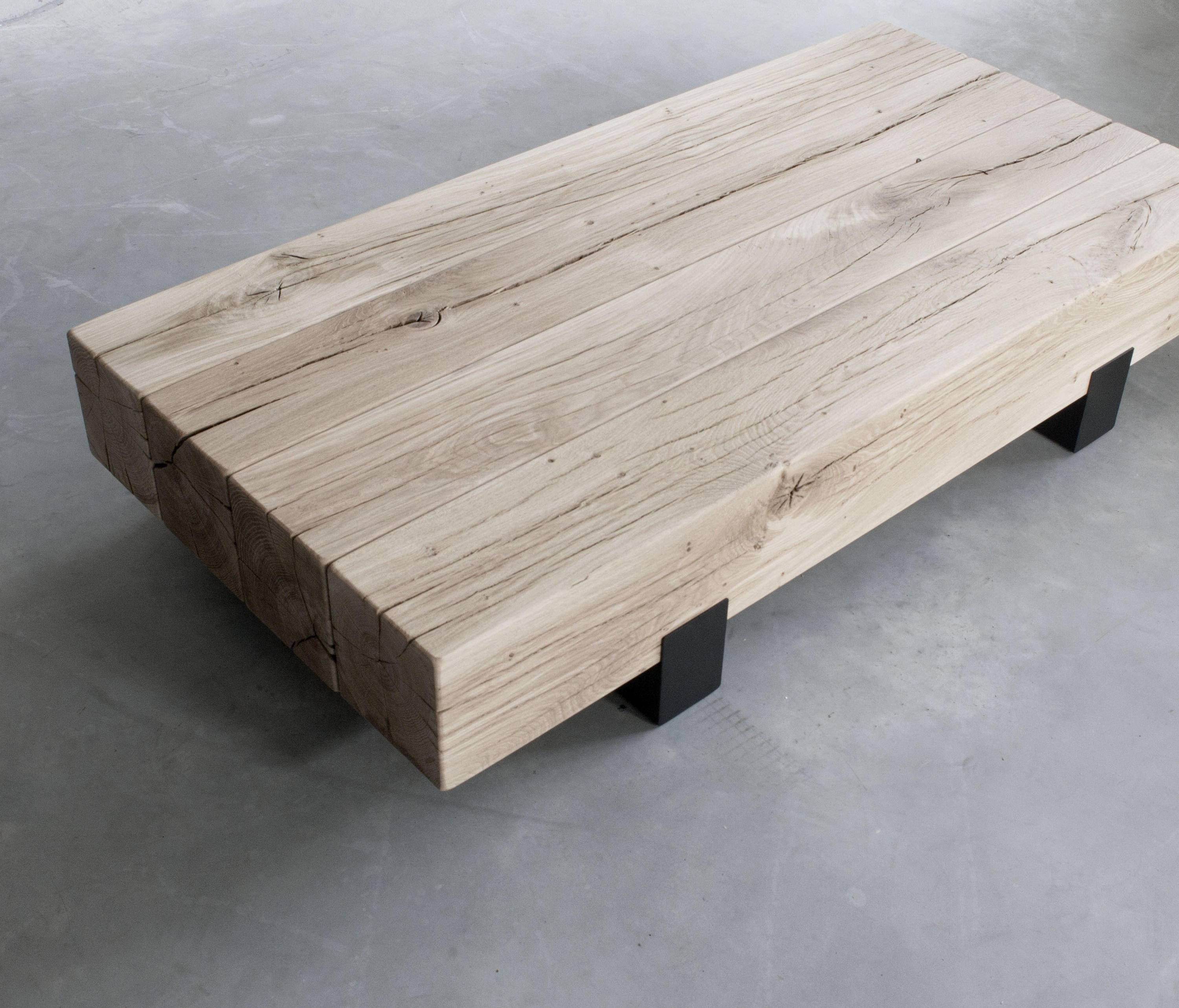 Beam Coffee Table   Lounge Tables From Van Rossum | Architonic With Regard To Solid Oak Beam Coffee Table (Photo 12 of 15)