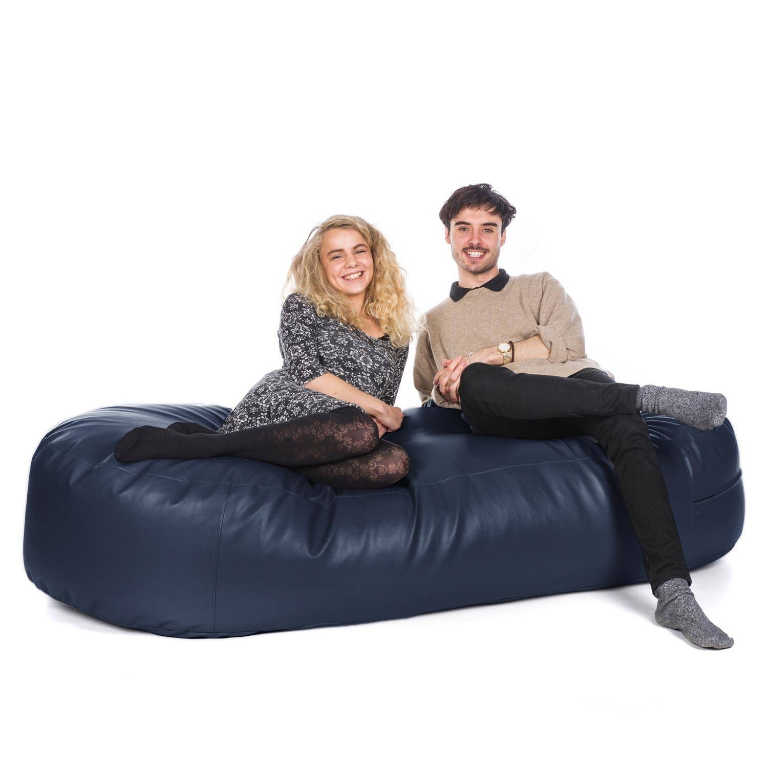 Bean Bag Sofa Beds | Uk-Manufactured - Greatbeanbags™ inside Bean Bag Sofas And Chairs (Image 5 of 15)