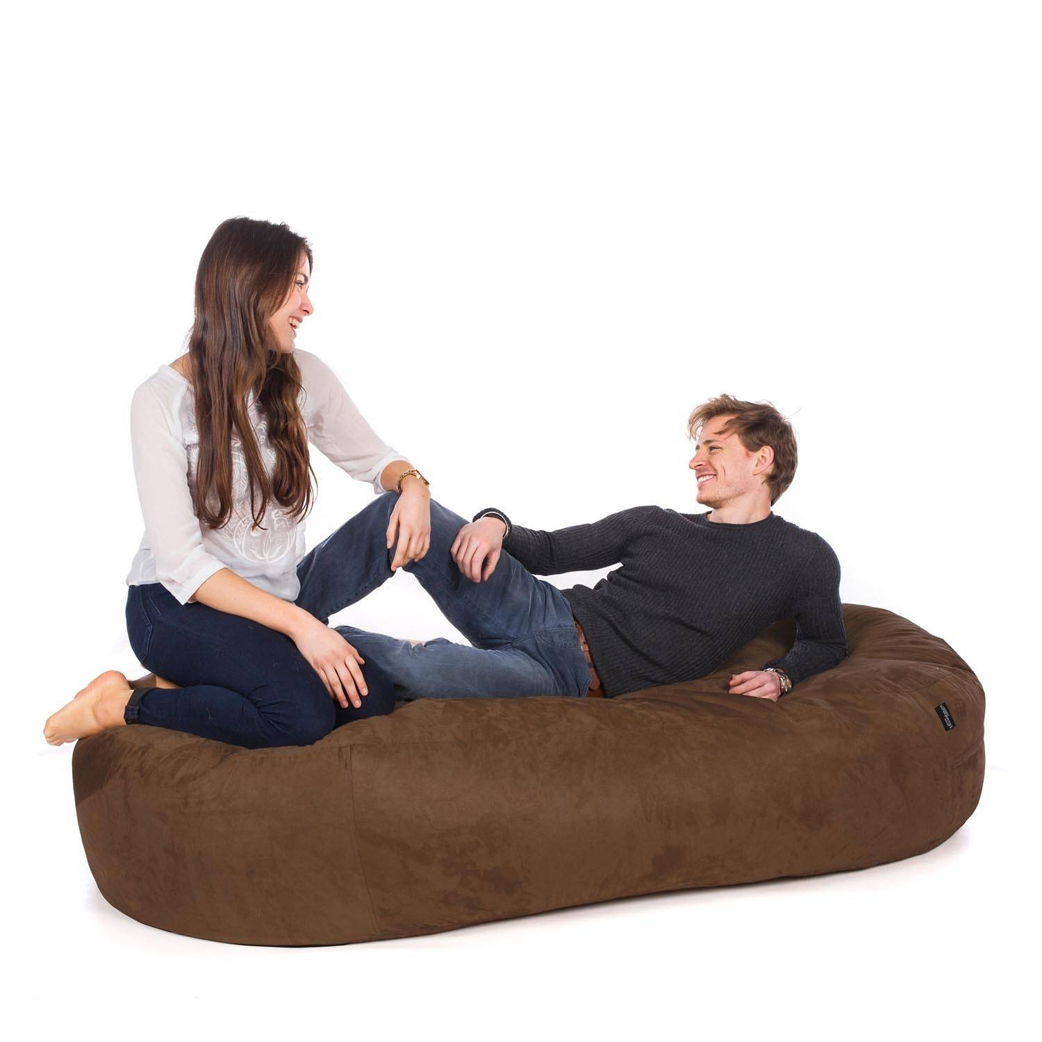 Bean Bag Sofa Beds | Uk-Manufactured - Greatbeanbags™ with Bean Bag Sofas And Chairs (Image 6 of 15)