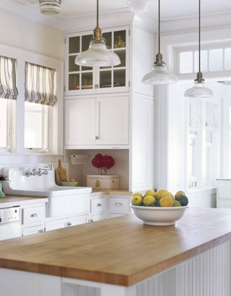 Beautiful Hanging Lights Kitchen Related To Interior Decorating intended for Single Pendant Lights For Kitchen Island (Image 3 of 15)