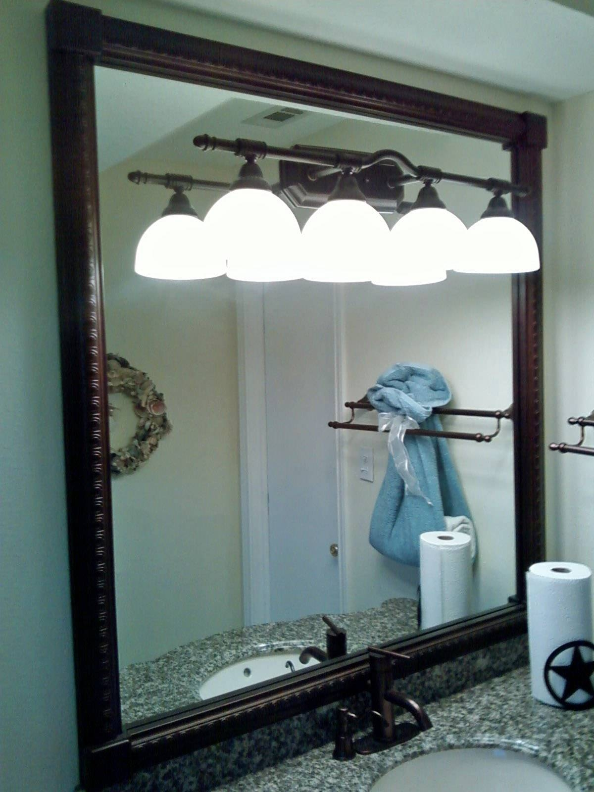 Beautiful Oil Rubbed Bronze Mirrors Bathroom — Doherty House for Large Bronze Mirrors (Image 5 of 15)
