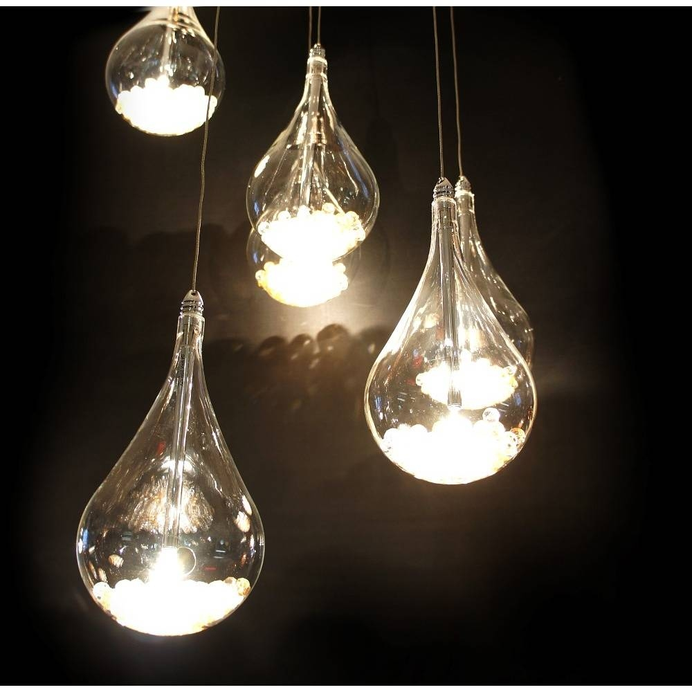 Beautiful Teardrop Pendant Light 29 About Remodel Ceiling Led within Teardrop Pendant Lights Fixtures (Image 2 of 15)