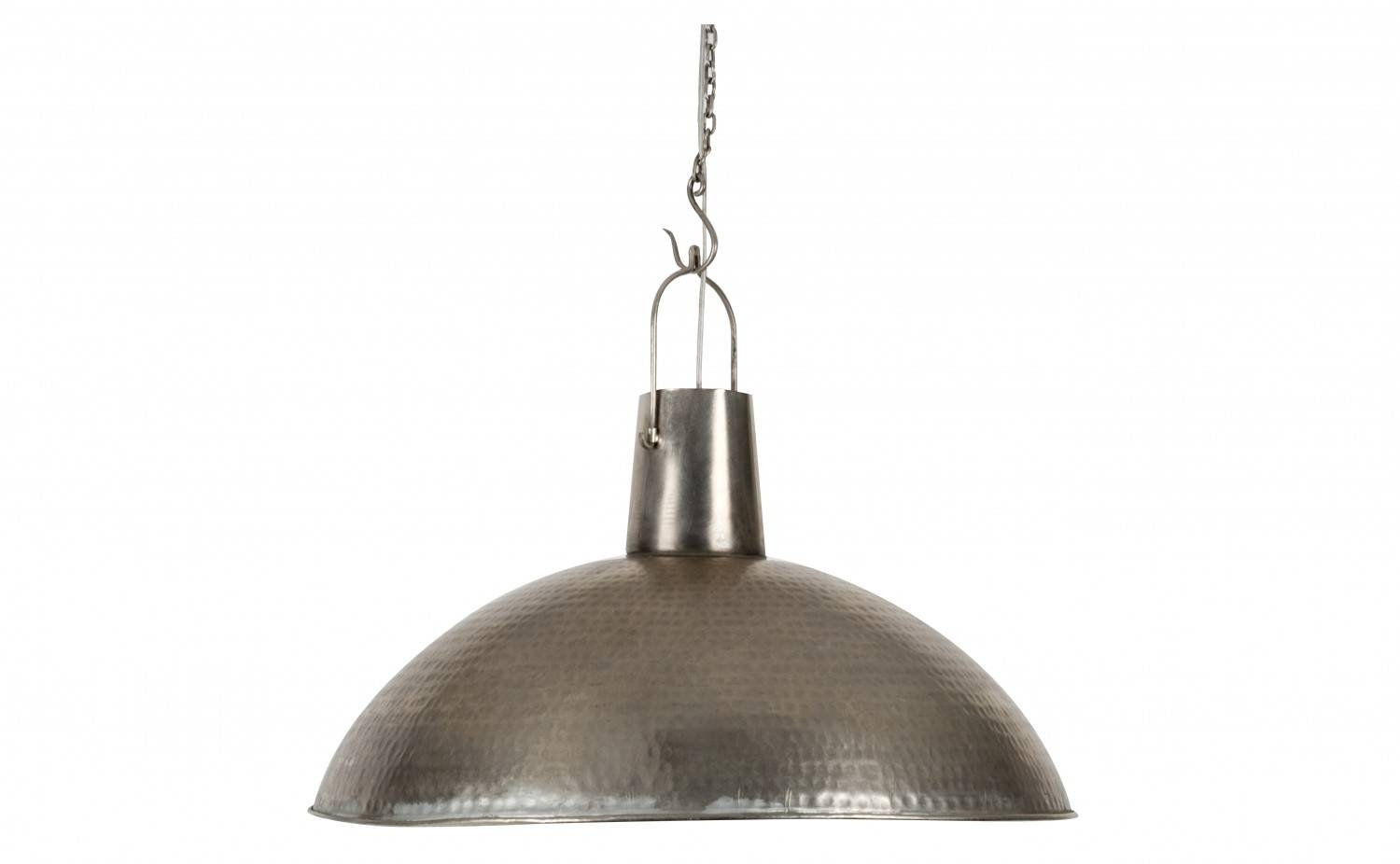 Beauty Of Hanging Lamps   Tcg Pertaining To Hammered Metal Pendant Lights  (Image 2 Of